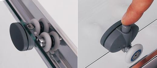 shower doors sliding rollers